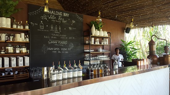 Distillery Visit at Chalong Bay Rum: Rum tasting