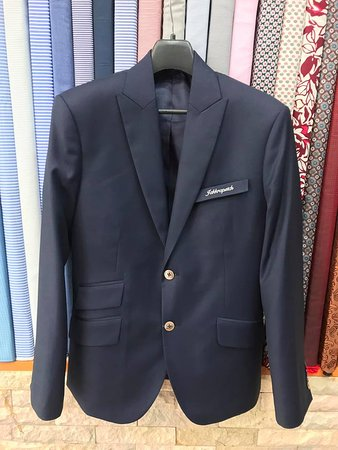 Fiorenzo Tailor: Single breasted 2 buttons with ticket pocket