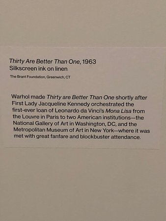 Whitney Museum of American Art Admission Ticket: Mona Lisa detail