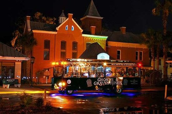 Haunted Trolley Tour of St Augustine
