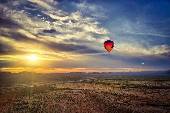 フェニックス熱気球のモーニングライド