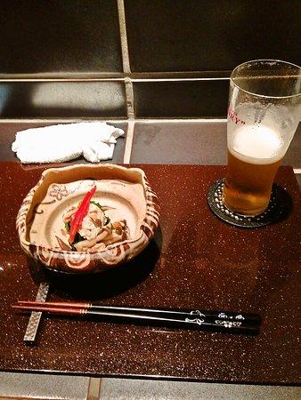ビールで最初は乾杯