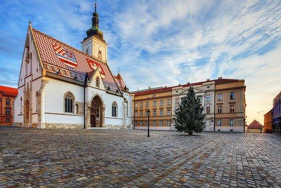Excursão a pé privada da Alta Zagreb...