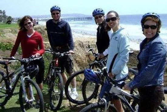 La Jolla Coast Bike Tour med Downhill...