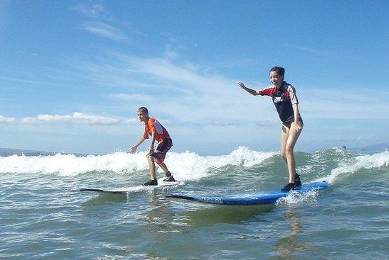 Group Surf Lesson: To timer med...