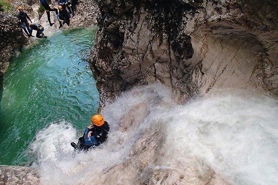 Canyoning nella Gola Susec da Bovec