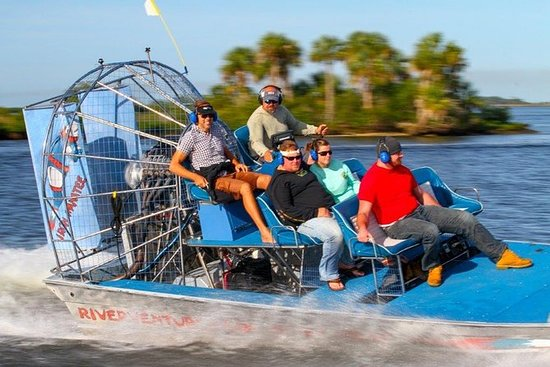 Mexicogolfen Airboat Ride og Dolphin...