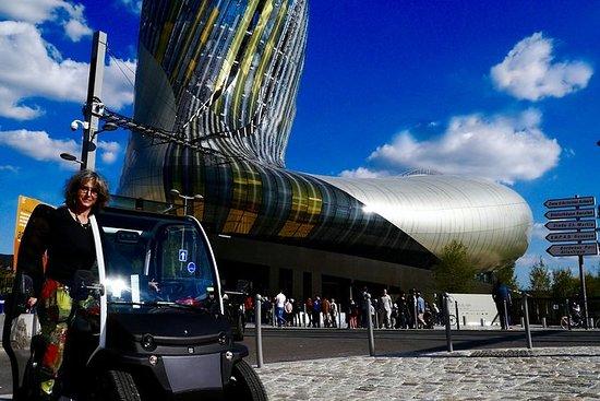 电动汽车自助式波尔多城市观光旅游与LaCitéduVin博物馆门票