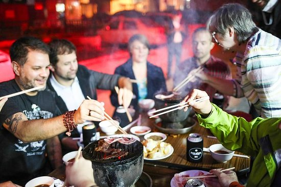Beijing Hutong mat- og ølvandring med...