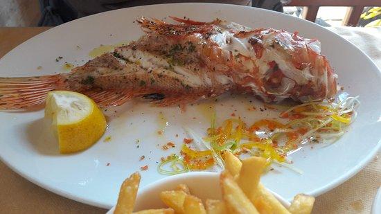 La Capanna: fish