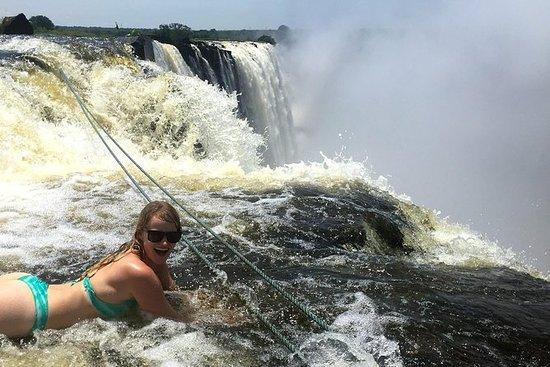 Safari sull'isola di Livingstone