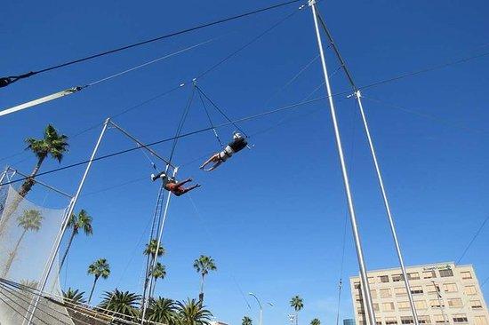 Lecciones de trapecio volador