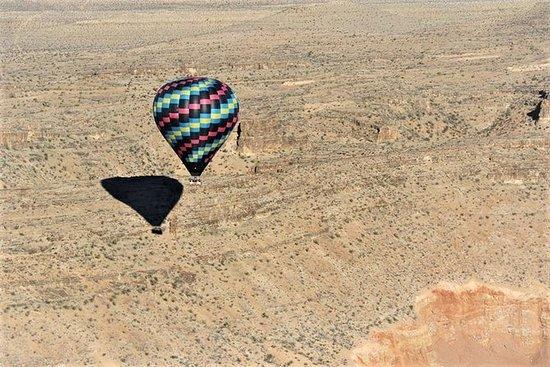 拉斯维加斯日出热气球飞行