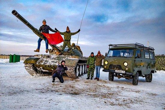Tank excursion and bazooka shooting