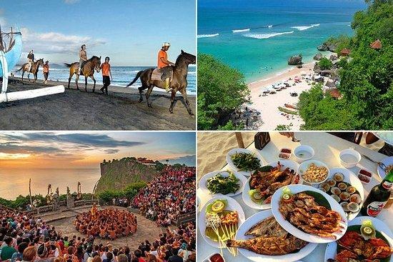 Paseo a caballo por Bali y excursión...