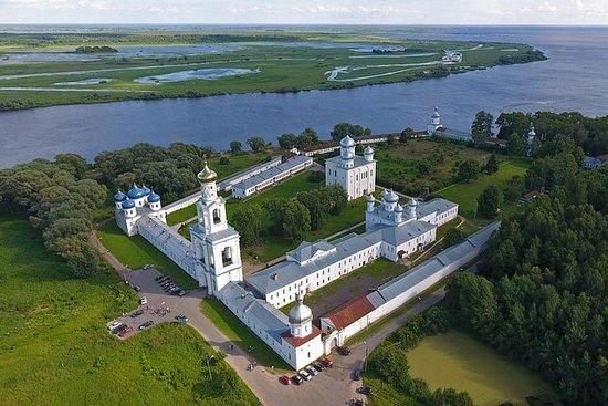 Veliky Novgorod: Tur til Yuriev...