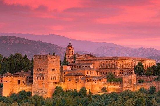 Alhambra: billet pour palais Nasrid...