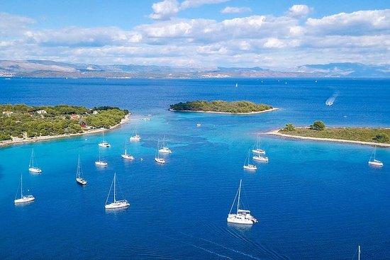 Blue Lagoon, Hvar & Trogir helgedag øy...