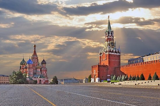 Grand Tour of Moscow: Red Square...