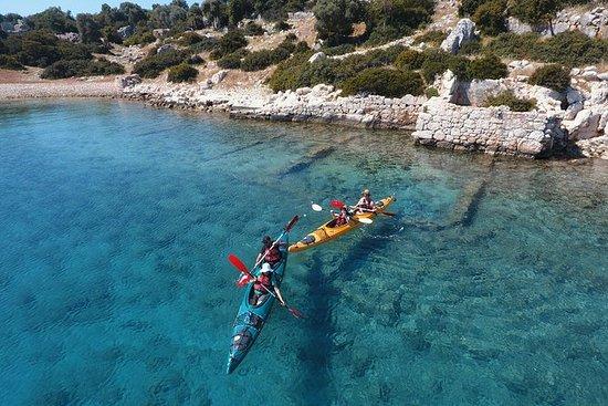 Sea Kayaking Over the Sunken City of...