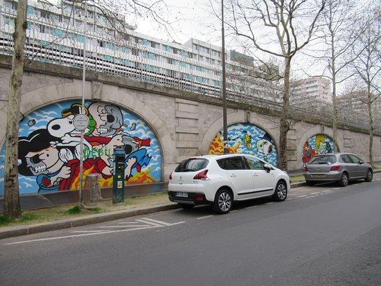 """Fresque """"Les arches-05"""""""