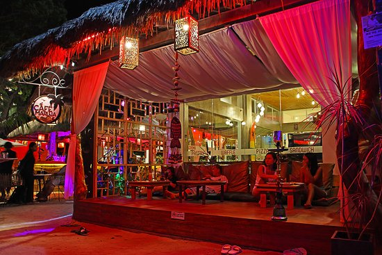 Cafe Maruja: Outdoor View Of The Cafe's Lounge