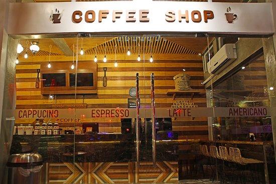 Cafe Maruja: Beach Side Entrance Door