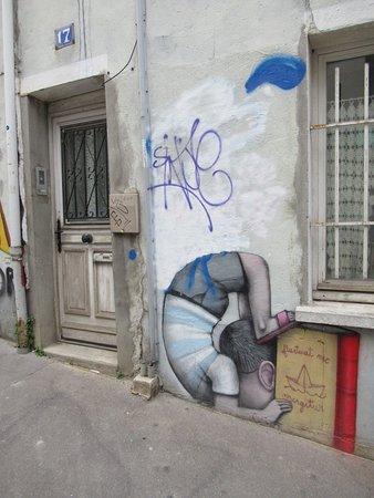 """Fresque """"Lézarts-2018 Seth4"""""""