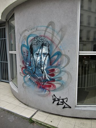 "Fresque ""Sportif04 - Tony Estanguet"""