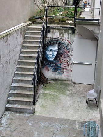 """Fresque """"Sportif05 - Florence Arthaud"""""""