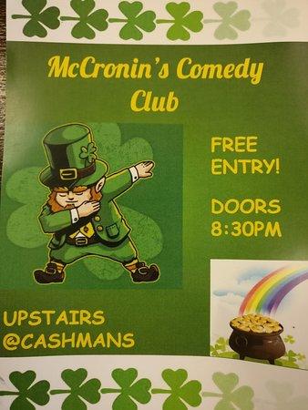 McCronins Comedy Club