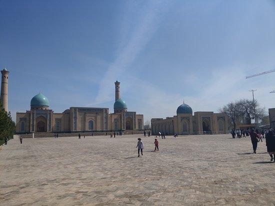 Taşkent, Özbekistan: the courtyard