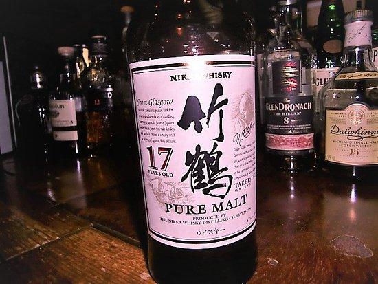 Whisky Pub Distill: 竹鶴17年。日本に生まれて良かった‥と思える美味しさです(*´`*)