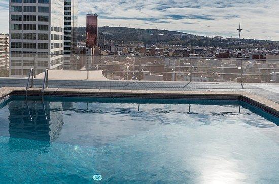 Gunstige Lage Dank Metro Und Zuganbindung Expo Hotel Barcelona