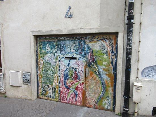 "Fresques ""Les lézarts de la Bièvre"""