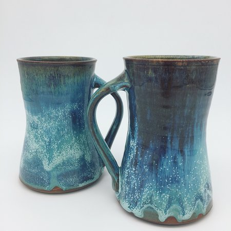 Morganton, NC: Handmade coffee mugs by Adam Mackay.