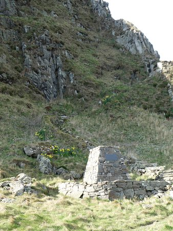 The staircase you have to ascend/ descend when walking between Cullen and Findlater Castle. However he constructed a very nice stone bench halfway up. Just perfect to sit and chill or get your breath back.