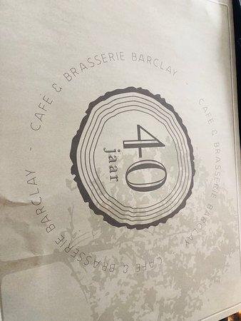 Cafe & Brasserie Barclay: celebrating 40 years great