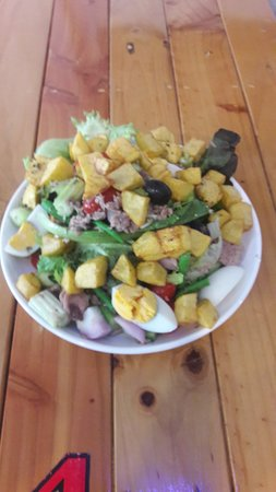 Tapas Thai: Salad Nicoise
