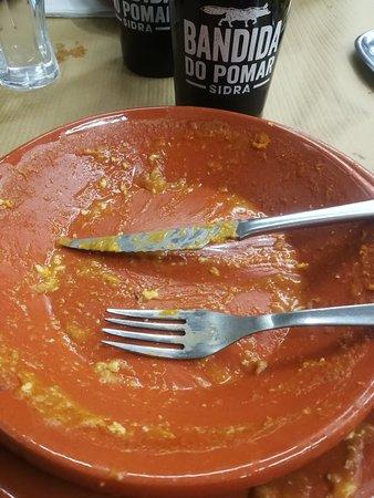 Valongo, Portugal: Início e final de uma refeição.... Muito agradável
