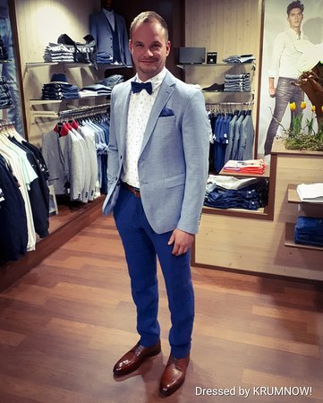 Krumnow!: Happy customer Steven in his new summer #party #outfit Nice that you were with us again.👍😎 . #myday #myoutfit #fashion #instafashion