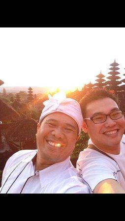 Besakih Temple: Me with my bro