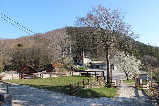 Restaurant Učka: Our terrace overlooks the beautiful surrounding nature.
