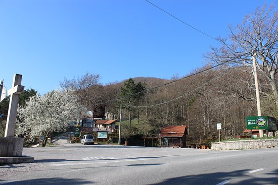 Restaurant Učka: We're located near the road heading up the Učka mountain.