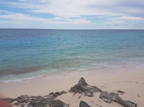 The Pink Beach Club: view