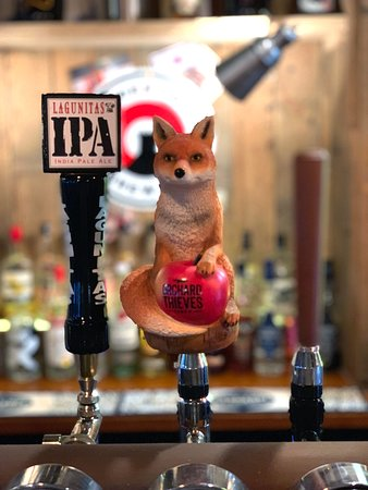 The Lord Nelson Pub: Follow the fox!!