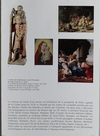 Le flyer du musée