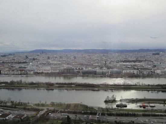 Donauturm: tolle Aussicht