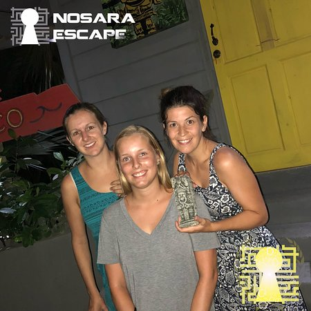 Nosara Escape: they made it!