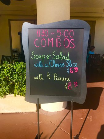 Lunch Combos.